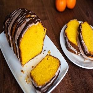 Receta de budín de mandarina en licuadora